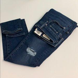 Levi's Women's 721 Skinny Jeans Indigo Size 25x30